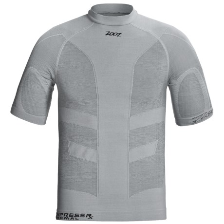 Zoot Sports ULTRA Thermal CompressRx Top - UPF 50+, Short Sleeve (For Men and Women)