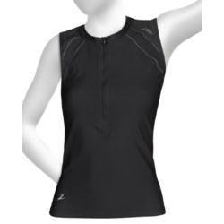 Zoot Sports High-Performance Tri Top - Zip Neck, UPF 50+, Sleeveless (For Women)