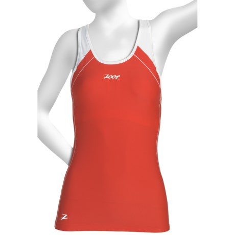 Zoot Sports High-Performance Hydro Tri Crossback Top - UPF 50+, Built-In Bra (For Women)