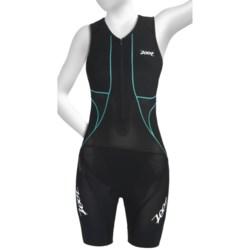 Zoot Sports Ultra Tri Race Suit - UPF 50+, Zip Neck, Built-In Bra (For Women)