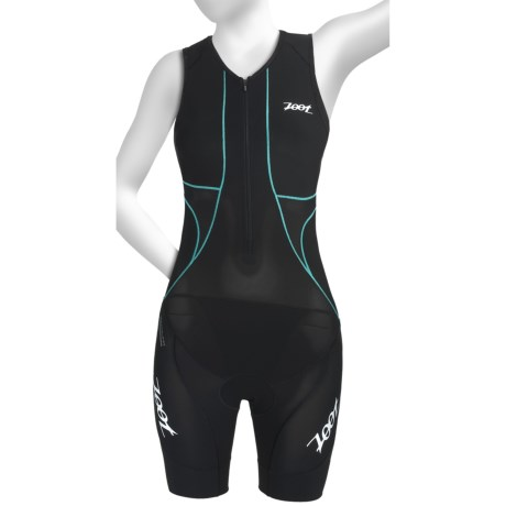 Zoot Sports Ultra Tri Race Suit - UPF 50+, Zip Neck, Built-In Bra (For Women)