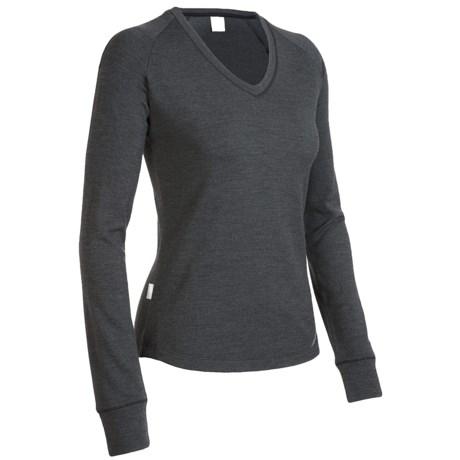 Icebreaker City260 Zephyr V-Neck Shirt - Merino Wool, Long Sleeve (For Women)