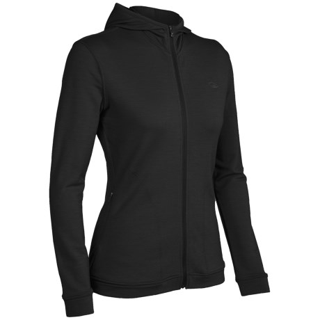 Icebreaker City260 Villa Bali Hooded Shirt - Merino Wool, Full Zip, Long Sleeve (For Women)
