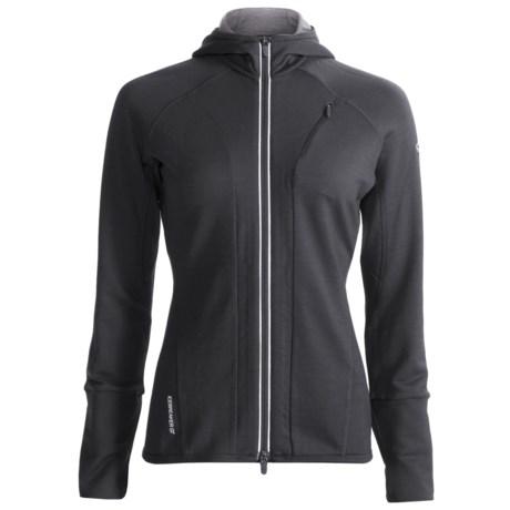 Icebreaker GT260 Quantum Hooded Shirt - Merino Wool, Full Zip, Long Sleeve (For Women)