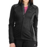 Icebreaker RF260 Cascade Jacket - Merino Wool, Full Zip, Long Sleeve (For Women)