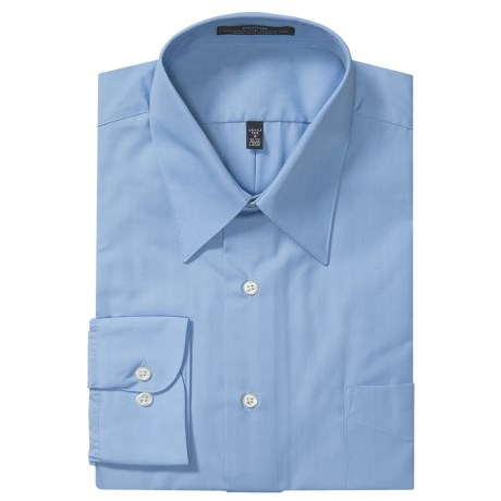 Specially made Easy-Care Poplin Dress Shirt - Long Sleeve (For Men)