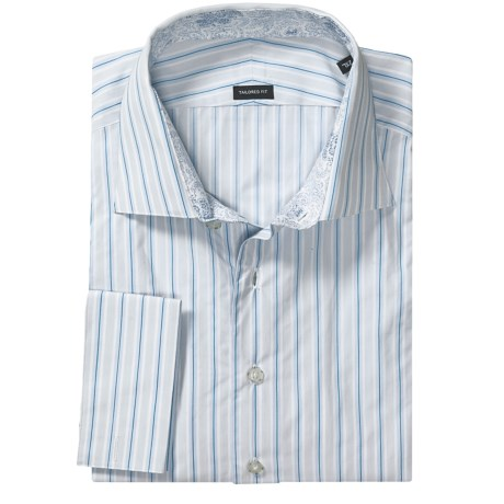 French Cuff Sport Shirt - Long Sleeve (For Men)