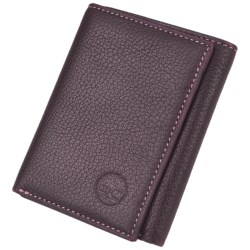 Timberland Slim Trifold Wallet - Pebbled Leather