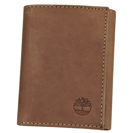 Timberland Pull Up Leather Trifold Wallet