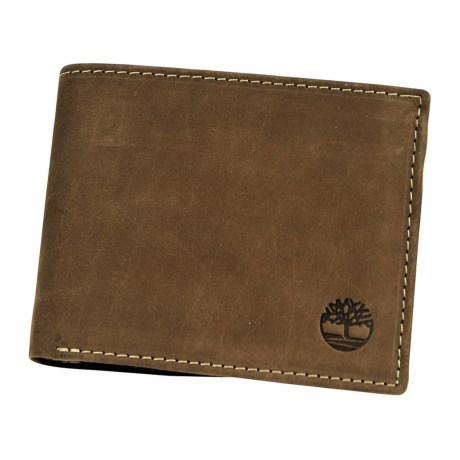 Timberland Buff Nubuck Commuter Wallet