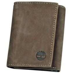 Timberland Buff Nubuck Slim Trifold Wallet
