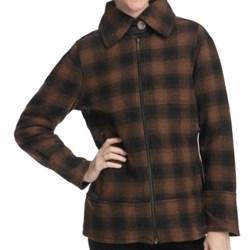 Woolrich Chatham Creek Plaid Jacket - Wool (For Women)