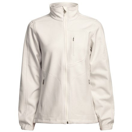 Woolrich Summit Soft Shell Jacket (For Women) in Winter White - Closeouts