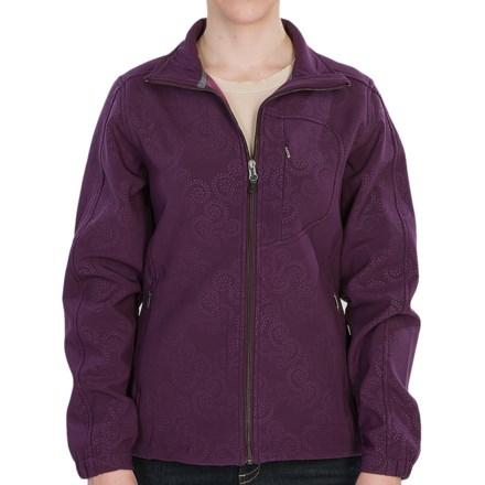 Woolrich Summit Soft Shell Jacket (For Women) in Blackberry - Closeouts