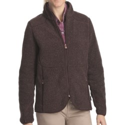 Woolrich High Point Sherpa Jacket - Full Zip (For Women)