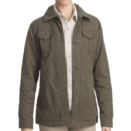 Woolrich Blacktail Jacket - Peached Twill (For Women)