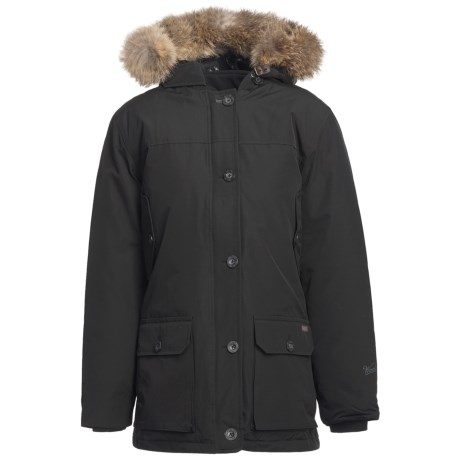 Woolrich Arctic Down Filled Parka - 550 Fill Power, Removable Fur Trim (For Women)