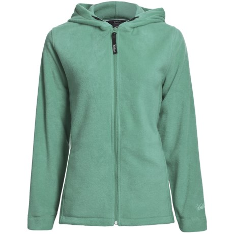 Woolrich Andes Fleece Jacket - UPF 40+, Attached Hood (For Women)