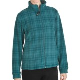 Woolrich Andes Plaid Fleece Jacket - UPF 40+ (For Women)