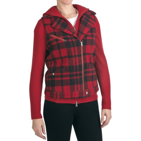 Woolrich Ryder Plaid Vest - Wool Blend (For Women)
