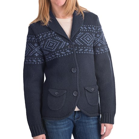 Woolrich Chester Valley Sweater - Lambswool (For Women)