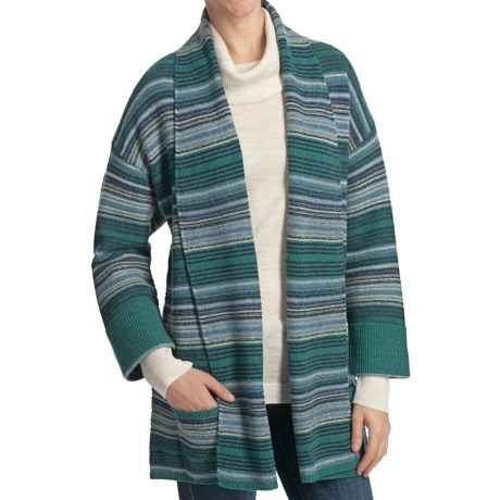 Woolrich Caledonia Wrap Cardigan Sweater - Lambswool, 3/4 Sleeve (For Women)