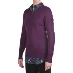 Woolrich Laurel Sweater - V-Neck (For Women)