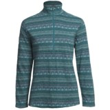 Woolrich Tawnya Jacquard Zip Turtleneck - Long Sleeve (For Women)