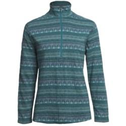 Woolrich Tawnya Jacquard Zip Turtleneck - Long Sleeve (For Women)