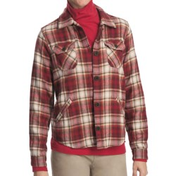 Woolrich Oxbow Lodge Plaid Flannel Shirt - Long Sleeve (For Women)