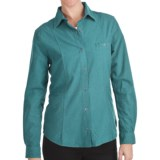 Woolrich Chamois Flannel Shirt - Snap Front, Long Sleeve (For Women)