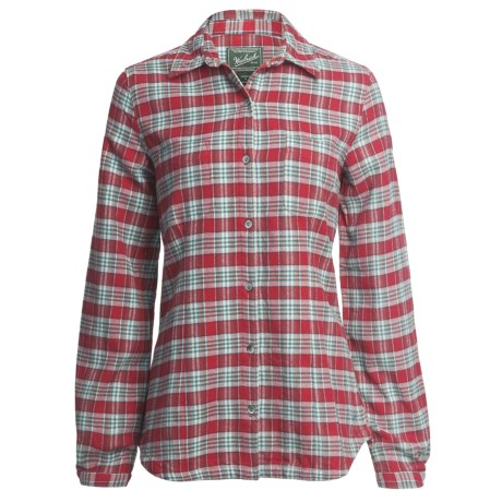 Woolrich Pemberton Flannel Shirt - Long Sleeve (For Women)