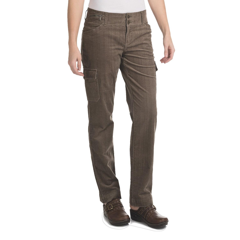 Luxury  By Ralph Lauren Skinny Cargo Pants In Khaki Sahara Olive  Lyst