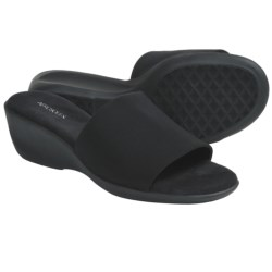 Aerosoles Badminton Slide Sandals - Wedge Heel (For Women)