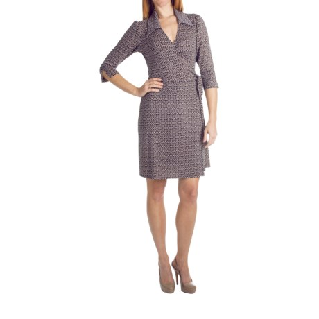 Laundry by Design Tribal Print Dress - 3/4 Sleeve (For Women)