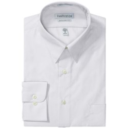 Van Heusen Basics Dress Shirt - Wrinkle-Free Poplin, Long Sleeve (For Men)