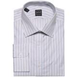 Ike Behar Black Label Rope Stripe Dress Shirt - Long Sleeve (For Men)