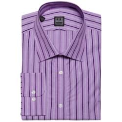 Ike Behar Black Label Track Stripe Dress Shirt - Long Sleeve (For Men)