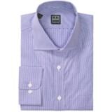 Ike Behar Black Label Mini Check Dress Shirt - Long Sleeve (For Men)