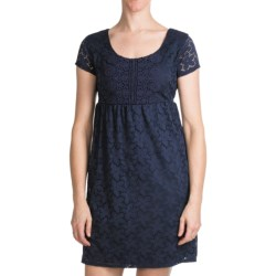 Laundry by Design Sand Dollar Lace Dress - Short Sleeve (For Women)