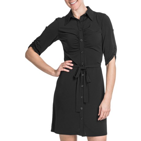 Laundry by Design Matte Jersey Shirt Dress - Short Sleeve (For Women)