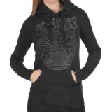 DC Shoes Disarm Hoodie Sweatshirt (For Women)