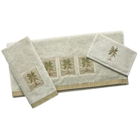 Avanti Linens Velour Towel Set - 3- Piece
