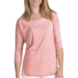FDJ French Dressing Misty Shirt - Burnout Cotton Blend, 3/4 Sleeve (For Women)