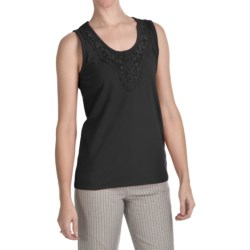 FDJ French Dressing Lace Trim Tank Top (For Women)