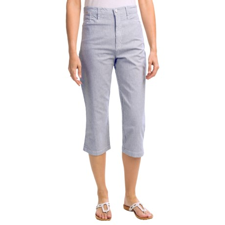 FDJ French Dressing Suzanne Nantucket Stripe Capris (For Women)