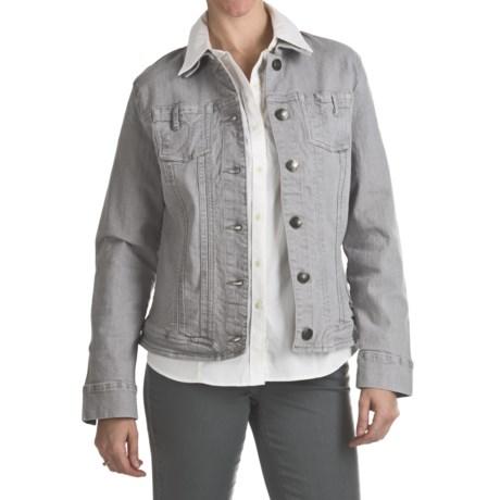 FDJ French Dressing Diamond Denim Jacket - Stretch Cotton (For Women)
