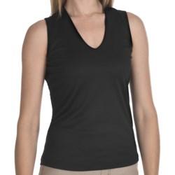 FDJ French Dressing Slimmer V-Neck Tank Top (For Women)