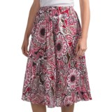 Casual Studio Crinkle Skirt - Cotton (For Women)