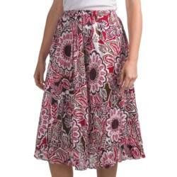 Casual Studio Crinkle Skirt - Cotton (For Women)